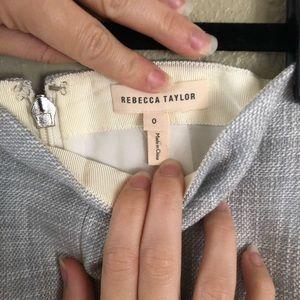 Rebecca Taylor fringe skirt
